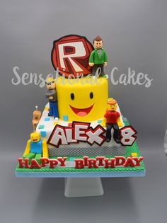 Cake birthday boys my son 31 best Ideas Roblox Birthday Cake, Roblox Cake, Boy Birthday, Easy Christmas Cookie Recipes, Christmas Sweets, Wedding Shower Cupcakes, Cake Decorating With Fondant, 10th Birthday Parties, Cakes For Boys