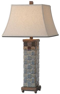 mincio ceramic table lamp discontinued  need to select new buffet lamps  uttermost sangiano      rh   pinterest