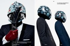 """Daft Funk"" Editorial for 'Fucking Young' Magazine"