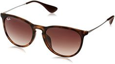 Ray Ban sunglasses    RayBan ERIKA F RB4171F Sunglasses 8651354  Avana Gommato Frame Brown Gradient *** Find out more about the great product at the image link.-It is an affiliate link to Amazon. #RayBansunglasses