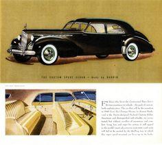 1940 Packard Super-8 One-Eighty Custom Sport Sedan by Darrin