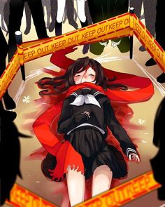 KEEP OUT KEEP OUT KEEP OUT Ayano dead T_T