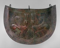 Bronze mitra (belly guard) Period: Archaic Date: late 7th century B.C. Culture: Greek, Cretan Medium: Bronze