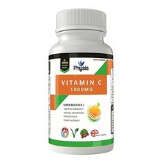 From 7.49 Physis Vitamin C | High Strength 1000mg | Antioxidant | Important For Overall Health | Suitable For Men And Women | 1 Month Supply | 100% Money Back Guarantee.