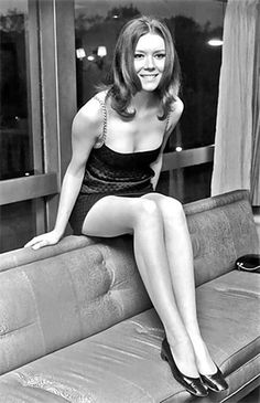 Diana Rigg as Teresa di Vicenzo in on her majesty's secret service 1969