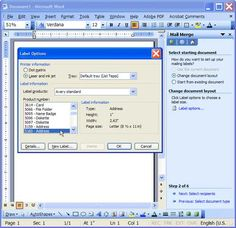 mail merge 05