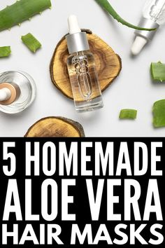 10 Aloe Vera Hair Masks | If you're looking for a deep conditioner for your hair, we're sharing our favorite DIY and store bought aloe vera masks! Whether you need help with hair growth, for dandruff, for dry scalp, for dry hair, for oily hair, for frizzy hair, or to prevent hair breakage, these hair masks will help. Using ingredients you already have on hand, like egg and coconut oil, honey and ACV, these homemade hair masks will make your locks look fresh, moisturized, and gorgeous! Coconut Hair Mask, Yogurt Hair Mask, Egg Hair Mask, Hair Masks, Aloe Vera Hair Mask, Aloe Vera For Hair, Aloe Vera Gel, Oily Scalp, Oily Hair