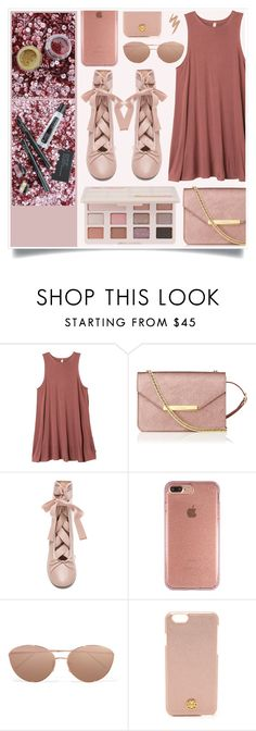 """My Friends"" by racanoki ❤ liked on Polyvore featuring Pat McGrath, RVCA, Too Faced Cosmetics, L.K.Bennett, Speck, Linda Farrow, Tory Burch, Urban Decay and RaCaNoKi"