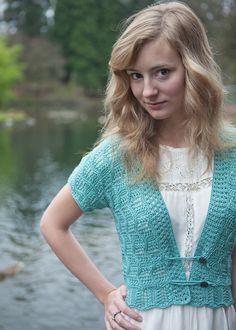 Lace Cardigan Knitting Pattern - Lace Sweater Pattern - Brynna - Downloadable Knitting Patterns - Chic Knits Knitting Patterns