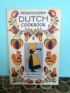 Pennsylvania Dutch Cookbook Fine Old Recipes Booklet - Midcentury Modern Vintage Cookbooks by 20thCKitchenAndTable on Etsy