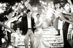 Wedding Ambiance: Cool Lighting Inspiration That Will Leave You Glowing!sparklers for wedding;sparklers at wedding; The Wedding Date, Wedding Pics, Wedding Events, Wedding Day, Wedding Stuff, Dream Wedding, Wedding 2015, Weddings, Wedding Dreams