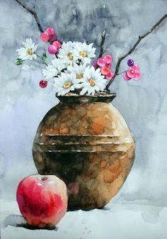 NAMIL ART: watercolor step by step