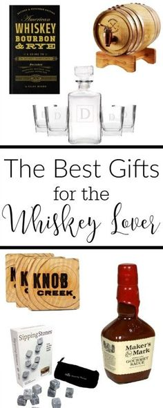 Here's a list of the best gift ideas for the whiskey lover in your life! From gourmet foods, to glasses there's something for everyone!
