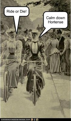 Biker Chicks. Seriously, why is this so funny?