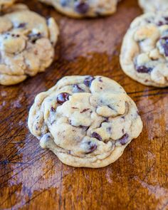 Chocolate Chip and Chunk Cookies - the kid will love these!  Actually everybody loves these - I did it with AP flour and they are fab - nothing but rave reviews.