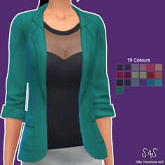 Amy Top Collection at Simista via Sims 4 Updates