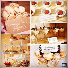We love wedding cake but we love these cute mini desserts too! Here are a few of our favorites for your wedding! #tiptuesday #dessert #sweet #love #wedding #dessertbar #weddingcake #weddingplanner #signatureeventsnashville #nashville