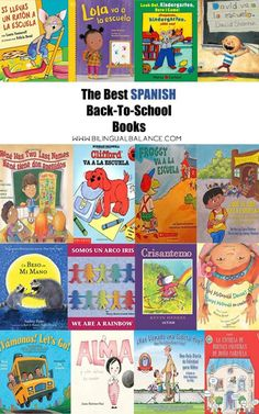 Spanish Back-to-School Books for Kids - Bilingual Balance
