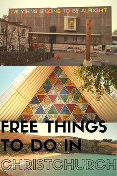 Free things to do in #Christchurch #NewZealand #travel