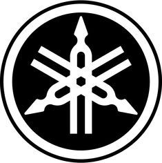 Yamaha maybe this symbol or dad's bike