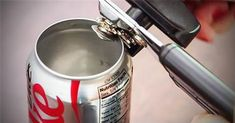 She Removes The Top Off A Coke Can And Grabs Spray Paint. When She's Done? This Is SO Cute!