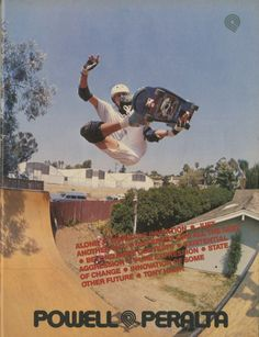 Powell Peralta - Pure Expression Ad (1988) < Skately Library