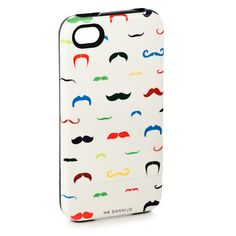 Mustache case! Brooke and Kayla we must get these!!!