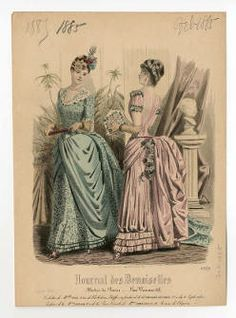 Women 1885, Plate 041 :: Costume Institute Fashion Plates