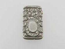 Gorham Sterling Silver Repousse coincide con seguro-Ornamentado Victoriana Vesta Primrose SL