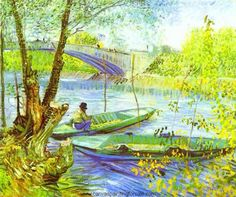Van Gogh  ~  'Fishing in Spring'