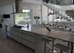 Finnish style white kitchen