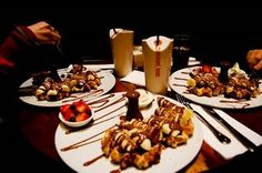 Looking forward to my family dinner date at Max Brenner NYC tonight ... Everything is a little better with a little chocolate.