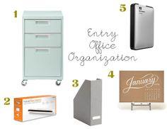 entry office organization | farm fresh therapy