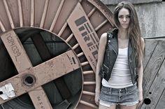 Black leather vest Black Leather Vest, My Style, Spring, Summer, Summer Time