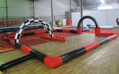 Inflatable Race Track WSP-136