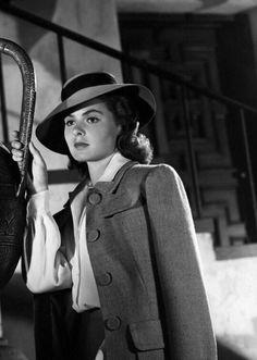 "magicofoldies: ""Ingrid Bergman"""