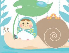 Unazukin on a snail
