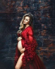 DIOR Gown Maternity Dress for Photoshoot or Babyshower Maternity Photography Poses, Maternity Poses, Maternity Pictures, Pregnancy Photos, Studio Maternity Shoot, Unique Maternity Photos, Maternity Dresses For Photoshoot, Long Sleeve Maternity Dress, Maternity Fashion