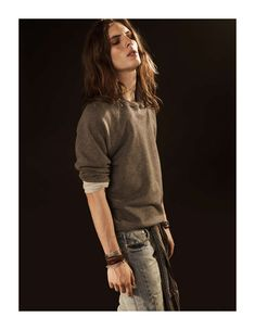 Viggo Jonasson - androgynous male model