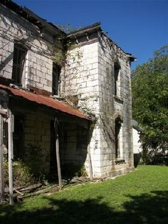 Hays County historic sites, including the Hays County Historical Site Guide, Old Hays County Jail, Pound House in Dripping Springs and Kyle Log House. Department Of Geography, Limestone Block, Texas State University, Brick Detail, Give Directions, Dripping Springs, Adaptive Reuse, County Jail, Log Homes