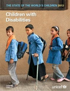 While the issue of disability is not a new one for UNICEF, I learned that they are moving from focusing on the protection of children with disabilities to promoting their rights the same as other children.