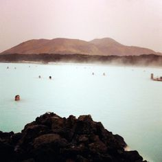 the blue lagoon in reykjavik - one of my favorite places on planet earth