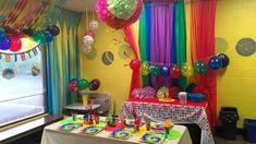 JUMP2IT Kelowna:  RAINBOW themed birthday party