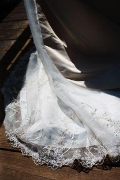 Dress detail on bridge. Firestone Park - Akron, Ohio May 4, 2014
