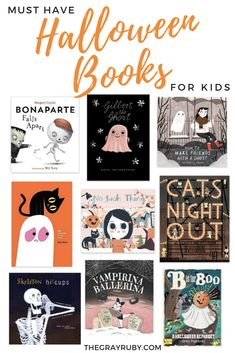 Halloween is right around the corner! Make bedtime stories festive with these halloween books that are not really spooky at all. Halloween Books For Kids, Halloween Activities For Kids, Halloween Pictures, Holidays Halloween, Halloween Crafts, Happy Halloween, Halloween Decorations, Halloween Party, Halloween Ideas
