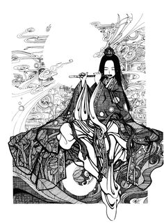 """Oneness""  by ~chilsong -   Traditional Art / Drawings / Miscellaneous"