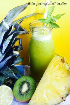 Pineapple Indigestion Juice - The Juicing Collection #juicing #indigestion #raw #recipe