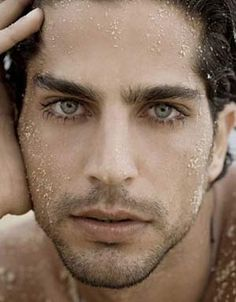 He gives Ian Somerhalder a run for the money with those eyes. Goodness.