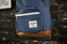 "The Black Pop Quiz bag from Herschel Supply Co. is the more detailed older brother of the staple ""Classic"" backpack."