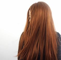 Our newest shade vibrant auburn -tressmirage hair extensions + hair topper for short thin hair by tressmerize
